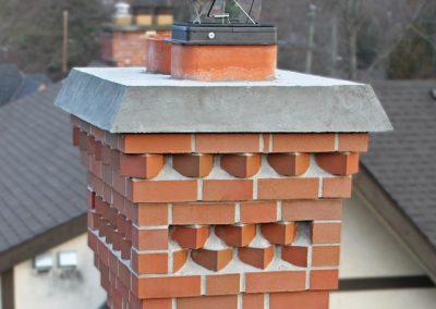 Red Brick, Dog Tooth Detail & Roof Top Damper