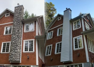 Burham Before & After
