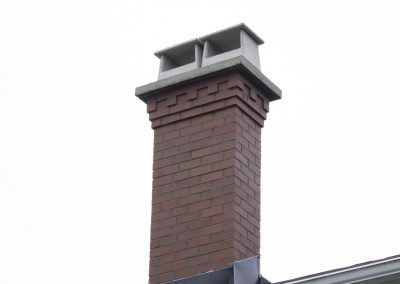 Inca Red With Corbel Detail