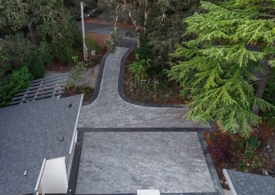 Dyed, Stamped Borders & Paving Stone Panels