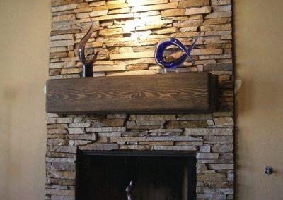 Natural Stone Interior Fireplace Orca Masonry