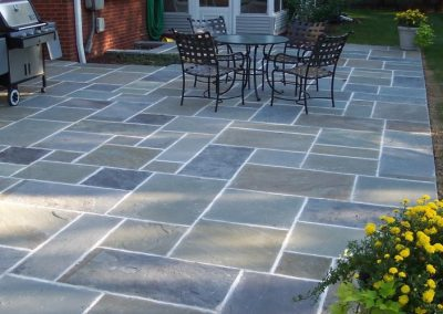 Pennsylvania Bluestone Ashlar Pattern Patio in Victoria